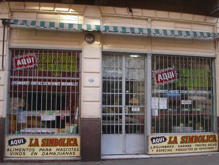 Tienda La Simbólica en San Telmo.
